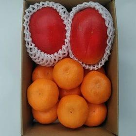 フルーツセット(宮崎完熟マンゴ-&佐賀産ハウスみかん)
