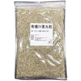 【900g】有機ライ麦丸粒 玄麦