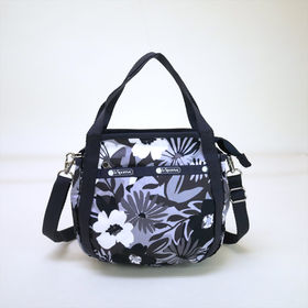 [LeSportsac]ハンドバッグ SMALL JENNI (ブラック系) | ころんと丸みを帯びたルックスが可愛らしい!ハンドバッグとしても◎