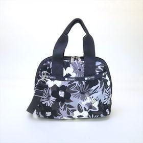 [LeSportsac]ハンドバッグ AMELIA HANDBAG (ブラック系) | 取り外し可能なショルダーストラップ付きで気分やシーンに応じて2wayで楽しめます!