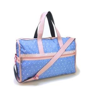 [LeSportsac]ボストンバッグ DELUXE LG WEEKENDER ブルー系 | 旅行には欠かせないボストンバッグ!キャリーバーに通せるポケット付きでサブバッグとしても◎
