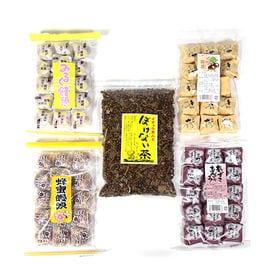 出雲の和菓子4種&ぼけない茶セット