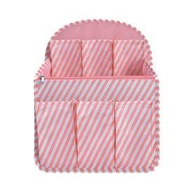 【ピンクストライプ】バッグッグインバッグ リュック リュック...