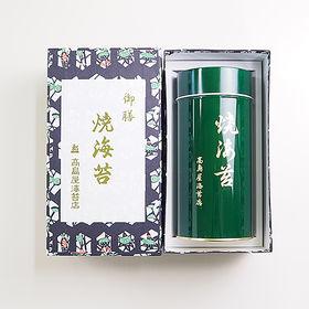 【40枚】丸缶 焼き海苔(並緑缶) 八つ切り全形