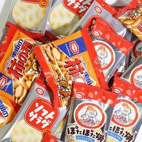 アジカル 柿の種ミニ & ぽたぽた焼ミニ & ソフトサラダミ...