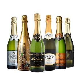 【6本セット】金賞受賞入り お得なスパークリングワインセット