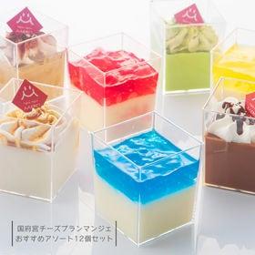 【12個セット】国府宮 チーズブランマンジェ おすすめアソー...