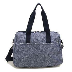 [LeSportsac]ボストンバッグ ネイビー HARPER BAG | 機内に持ち込める優秀ボストンバッグ!ちょっとした旅行やジムバッグに◎