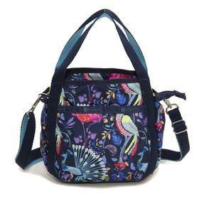 [LeSportsac]ハンドバッグ ネイビー系 SMALL JENNI | ころんと丸みを帯びたルックスが可愛らしい!ハンドバッグとしても◎