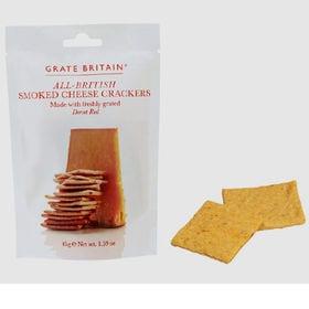 【2袋】グレートブリテン スモークチーズ クラッカー 45g
