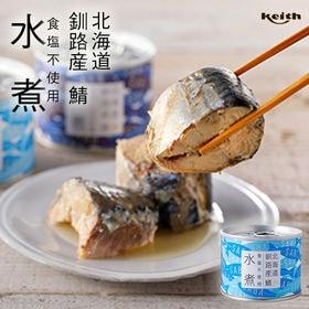 【計380g(190g×2)】ノフレ 鯖 水煮 缶詰 食塩不...