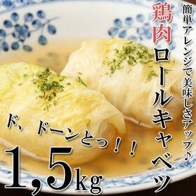 1.5kg(500g×3P) ミニロールキャベツ(鶏肉)
