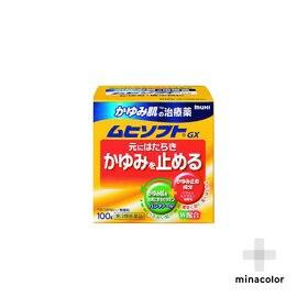 【第3類医薬品】ムヒソフトGX 100g かゆみ 蕁麻疹 効...