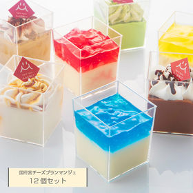 【12個セット】国府宮 チーズブランマンジェ プラチナミルク...