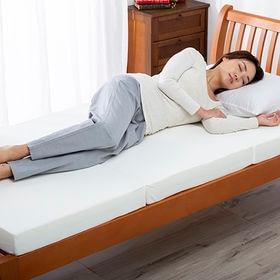 [シングル/ホワイト] 低高反発マットレス メディカルスリーパー グランデ ハイブリット※日本製 | お好みの寝心地に合わせて選べる!低反発と高反発のリバーシブルマット!