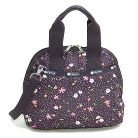 [LeSportsac]ハンドバッグ AMELIA HANDBAG(ブラック) | 取り外し可能なショルダーストラップ付きで気分やシーンに応じて2wayで楽しめます!