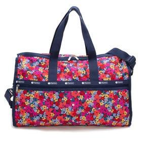 [LeSportsac]ボストンバッグ DELUXE LG WEEKENDER ピンク | 旅行には欠かせないボストンバッグ!キャリーバーに通せるポケット付きでサブバッグとしても◎