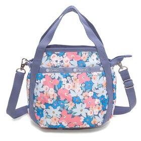 [LeSportsac]ハンドバッグ SMALL JENNI コーラルピンク | ころんと丸みを帯びたルックスが可愛らしい!ハンドバッグとしても◎