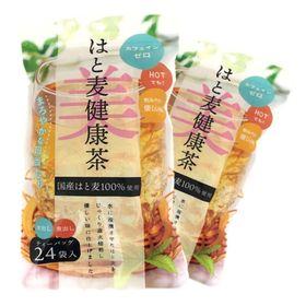 【計48パック】はと麦健康茶(24パック×2袋)