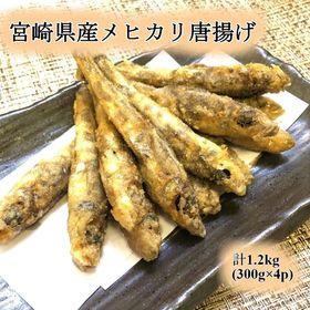 【計1.2kg】宮崎県メヒカリ唐揚げ