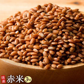 【3kg(500g×6袋)】国産赤米 (雑穀米・チャック付き...