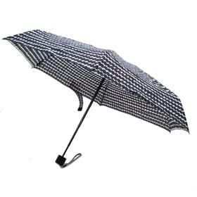 [marimekko]折り畳み傘 MINI MANUAL RASYMATTO ブラック | 雨の日のおでかけも楽しくなりそう♪