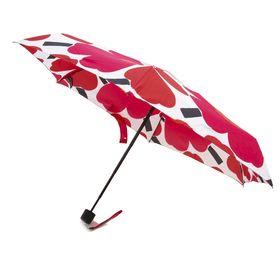 [marimekko]折り畳み傘 MINI MANUAL PIENI UNIKKO レッド | 雨の日のおでかけも楽しくなりそう♪