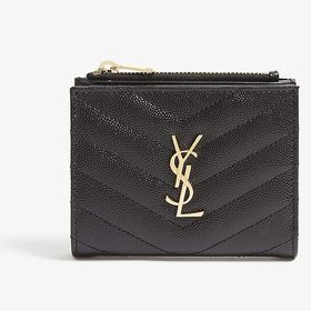 【色:NERO-ブラック】サンローラン 二つ折り財布 575...