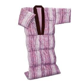 【ピンク】洗える羽毛かいまき布団