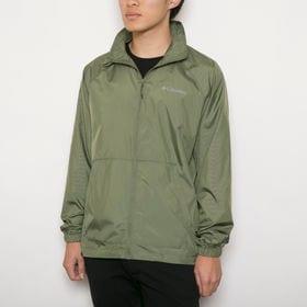メンズMサイズ【Columbia】ジャケット WIND BREAKER JACKET オリーブ | 肌寒いときに気軽に羽織れるウインドブレーカー!
