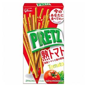 【4箱セット】グリコ プリッツ<熟トマト>