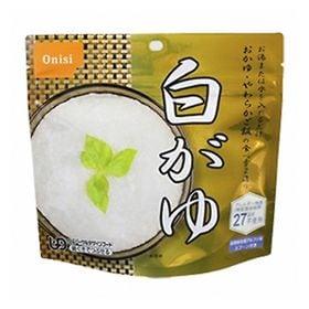 【4コ】長期保存対応 非常食防災用品 尾西 白がゆ(おかゆ)