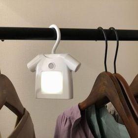 【ホワイト】人感付きクローゼットライト T-shirt(ティ...