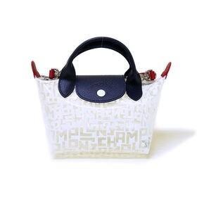 [Longchamp]ハンドバッグ LE PLIAGE LGB MINI HANDBAG(クリア) | OLに大人気の「ル・プリアージュ」が登場!ちょっとしたお出かけにぴったりのミニサイズ!