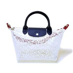 [Longchamp]ハンドバッグS LE PLIAGE LGB HANDBAG S(クリア) | OLに大人気の「ル・プリアージュ」が登場!荷物をコンパクトにまとめたい人にオススメ♪