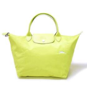 [Longchamp]ハンドバッグM LE PLIAGE CLUB HANDBAG M(イエロー) | 大人気の「ル・プリアージュ」が登場!A4サイズが収納できるMサイズ♪