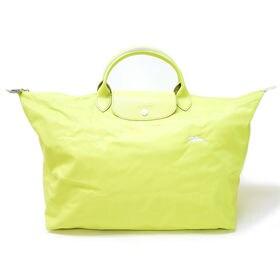 [Longchamp]ボストンL LE PLIAGE CLUB TRAVEL BAG L(イエロー) | OLに大人気の「ル・プリアージュ」が登場!折りたたんで持ち運べるのでサブバッグとしても◎