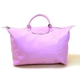 [Longchamp]ボストンL LE PLIAGE CLUB TRAVEL BAG L(ピンク) | OLに大人気の「ル・プリアージュ」が登場!折りたたんで持ち運べるのでサブバッグとしても◎