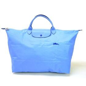 [Longchamp]ボストンL LE PLIAGE CLUB TRAVEL BAG L(サックス) | OLに大人気の「ル・プリアージュ」が登場!折りたたんで持ち運べるのでサブバッグとしても◎