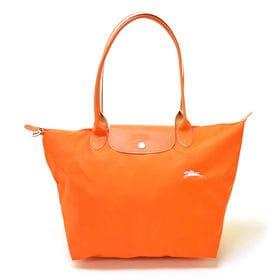 [Longchamp]トートバッグL LE PLIAGE CLUB TOTE L(ブライトオレンジ) | OLに大人気の「ル・プリアージュ」が登場!コンパクトに折りたたんでサブバッグとしても◎