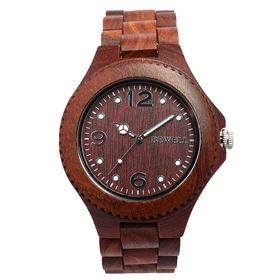 木製腕時計 天然素材 安心の天然素材 軽い 軽量 WDW002-01 | メンズ腕時計 保証付き