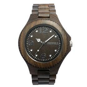 木製腕時計 天然素材 安心の天然素材 軽い 軽量 WDW002-02 | メンズ腕時計 保証付き