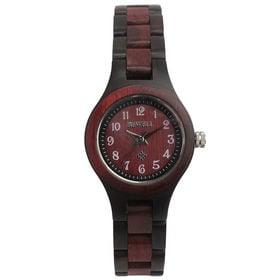 木製腕時計 日本製ムーブメント 軽い 軽量 26mmケース WDW022-03 | レディース腕時計 保証付き