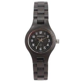 木製腕時計 日本製ムーブメント 軽い 軽量 26mmケース WDW022-05 | レディース腕時計 保証付き