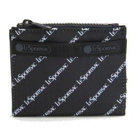 [LeSportsac]折り財布 SMALL WALLET ブラック系 | 厚みのないフラットなデザインがお気に入り!お子様用のお財布としても◎