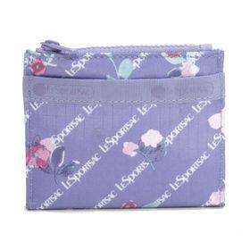 [LeSportsac]折り財布 SMALL WALLET ライトパープル系 | 厚みのないフラットなデザインがお気に入り!お子様用のお財布としても◎