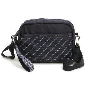 [LeSportsac]ショルダーバッグ CONVERTIBLE CAMERA BAG ブラック系 | リサイクルコレクションならではのロゴに注目!デイリーでの活躍が期待できそう♪
