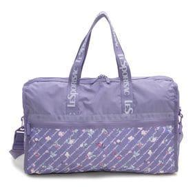 [LeSportsac]ボストンバッグ DELUXE LG WEEKENDER ライトパープル系 | 旅行には欠かせないボストンバッグ!キャリーバーに通せるポケット付きでサブバッグとしても◎