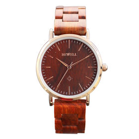 木製腕時計 天然素材 軽量 セイコーインスツル ムーブメント WDW028-02 | レディース腕時計 保証付き