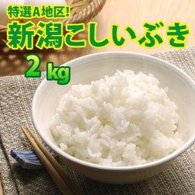 【2kg×1袋】令和2年産 新米 大人気 新潟県上越産こしい...